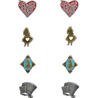 Disney Alice In Wonderland Earring Set