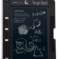 Boogie Board 8.5 Inch LCD Writing Tablet for Binders (Black)