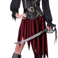 Queen of The High Seas Adult Costume | Medium (8-10)