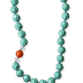 Amy Necklace (Mint or Turquoise}