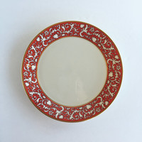 Gorgeous Lenox Firesong Salad Plate