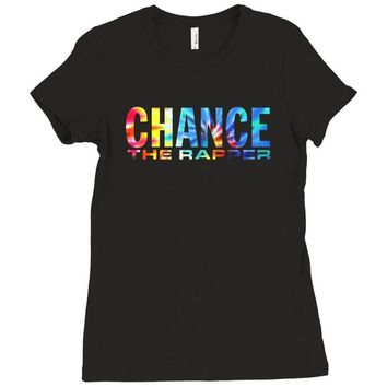 chance the rapper Ladies Fitted T-Shirt
