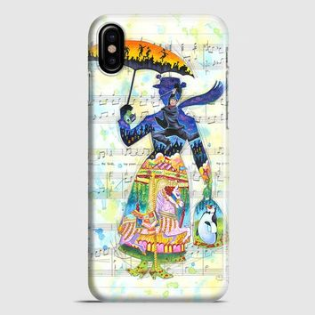 Mary Poppins Art iPhone X Case