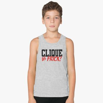 Clique As Frick Kids Tank Top