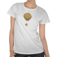 Balloon House from the Disney Pixar UP Movie Shirt from Zazzle.com