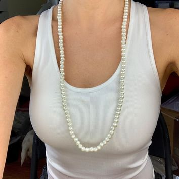 Classic String of Pearls Necklace