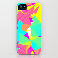 Abstract Rainbow iPhone Case by Andreas Leonidou | Society6