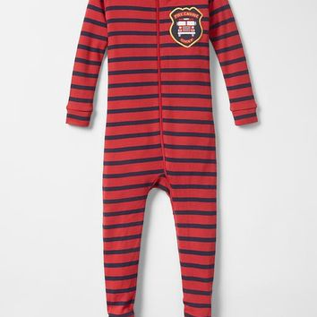 Gap Baby Rugby Footed Sleep One Piece