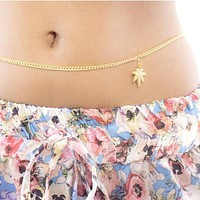 Mary Jane Belly Chain