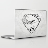 Super Feather Laptop & iPad Skin by LouJah