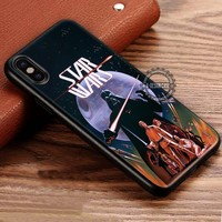Star Wars Movie Vintage Poster iPhone X 8 7 Plus 6s Cases Samsung Galaxy S8 Plus S7 edge NOTE 8 Covers #iphoneX #SamsungS8
