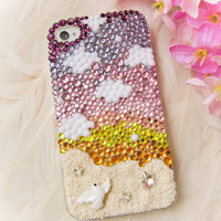 Original Sunrise Beach Crystal Bling Bling Phone Case