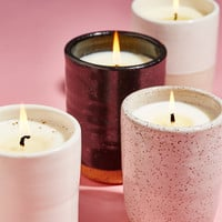 Free People Norden Ceramic Candle