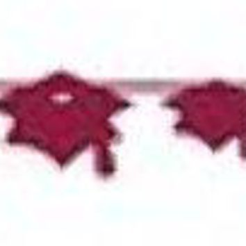 graduation mortarboard banner - burgundy Case of 12