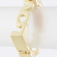 Square Love Bangle Bracelet