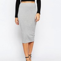 ASOS | ASOS Midi Pencil Skirt in Jersey at ASOS