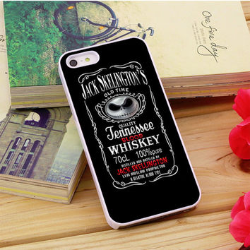Jack Skellington Whiskey Daniels iPhone 5|5S|5C Case Auroid