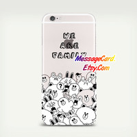 Comic Clear Phone Case Cover , Crystal Clear iPhone 6 6s Case , Custom Clear iPhone 6 6s Case , Cool iPhone Case , Transparent Case