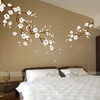 Beautiful Cherry Blossom Branches Wall Stickers – WallStickerDeal.com