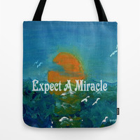 Expect A Miracle Tote Bag by Gretzky