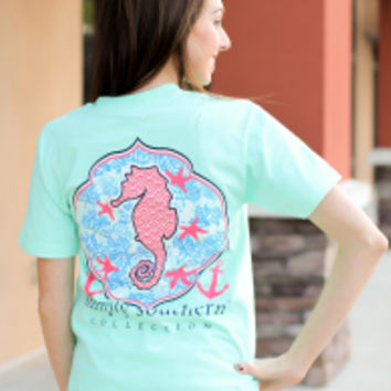 Simply Southern Tee - Seahorse