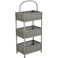 Collin Tiered Gray Basket