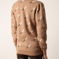 Browns fashion & designer clothes & clothing | JULIEN DAVID | 'Knife' wool cardigan