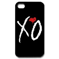 The Weeknd XO iPhone 4/4s Case Hard Protective Back Cover Case for iPhone 4/4s