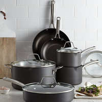 Calphalon Classic Nonstick 10-Pc. Cookware Set, Created for Macy's - Cookware Sets - Macy's
