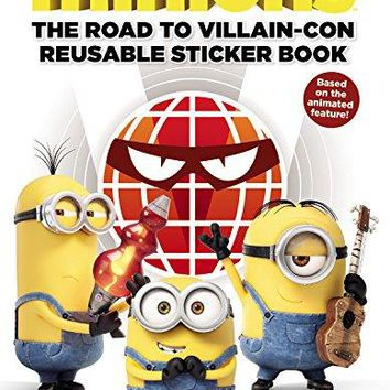Minions: The Reusable Sticker Book