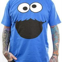 ROCKWORLDEAST - Sesame Street, T-Shirt, Cookie Monster