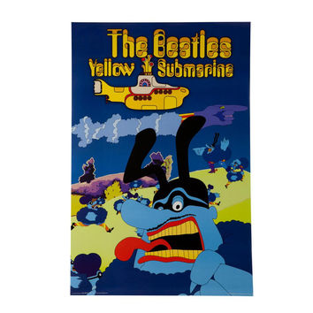 The Beatles - Blue Meanies Yellow Submarine 24x36 Standard Wall Art Poster