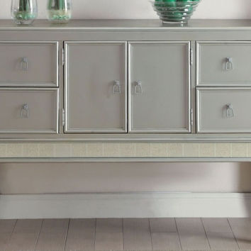 Acme 62084 Francesca champagne finish wood sideboard server buffet cabinet
