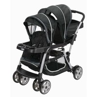Graco Ready2Grow Click Connect LX Double Stroller, Gotham - Walmart.com