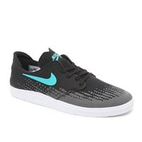 Nike SB Lunar Oneshot Black & Turquoise Shoes - Mens Shoes