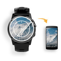 [HOT] H1 MTK6572 Bluetooth IP68 Waterproof Smartwatch with Camera SIM Support GPS/ WIFI Heart Rate H