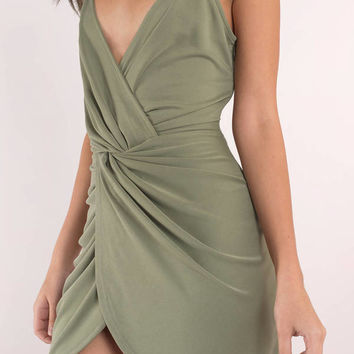 Amber Twist Bodycon Dress