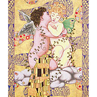The First Kiss Italian Wall Hanging