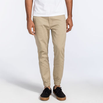 Levi's Mens Chino Jogger Pants Khaki  In Sizes