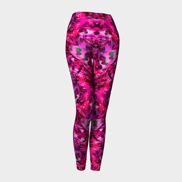 I Can Fly, Compression fit performance Leggings, XS,S,M,L,XL, Hot Yoga Pants, Activewear, Yoga Leggins,Made in Canada