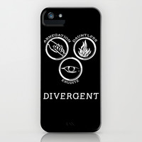 Divergent (White) iPhone & iPod Case by Lunil | Society6