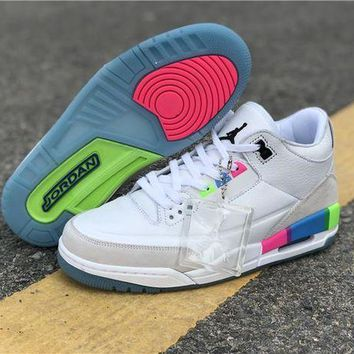 DCCK Air Jordan 3 Retro 'Quai 54' AT9195-111