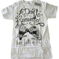 Hot Topic A Day To Remember Have Faith In Me T Shirt White 26% off retail