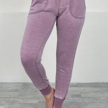 Cool Mauve Sweat Pants