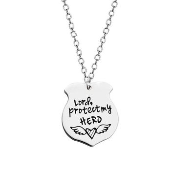 Protect my Hero Necklace
