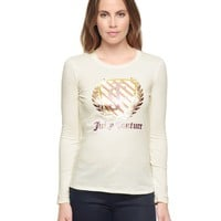 Angel Juicy Shield L/S Tee by Juicy Couture,