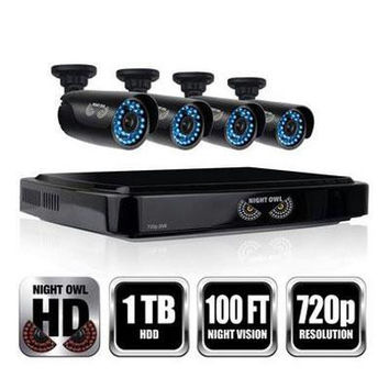 4 Channel HD Security System