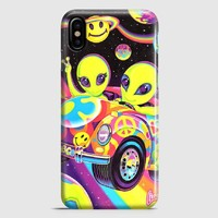Lisa Frank Neon Tiger And Monkey 90S iPhone X Case