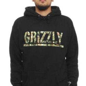 Grizzly, T-Puds Kush Pullover Hoodie - Black - Grizzly Griptape - MOOSE Limited