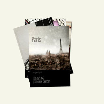 2015 Calendar, Paris Calendar, Travel Photography, 4x6 Prints, Paris Decor